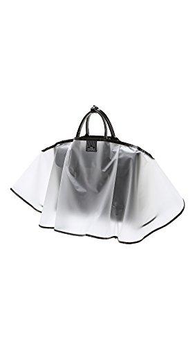 The Handbag Raincoat - Clear Midi (Medium)