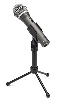 Samson Q2U - USB/XLR Dynamic Microphone for Home, Studio, Mobile & Stage Recording - Black