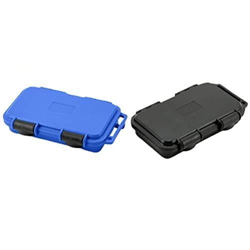 Mify Caja resistente al aire libre a prueba de golpes y presión impermeable sellada caja de almacenamiento de supervivencia, contenedor para pesca, camping, buceo