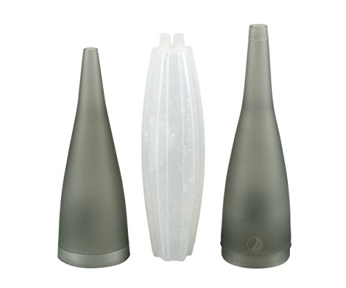 Ice Bazooka 2.0 - Boquilla de hielo para shisha (enroscable, con acumulador de...
