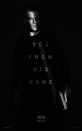 Poster Jason Bourne Movie 70 X 45 cm