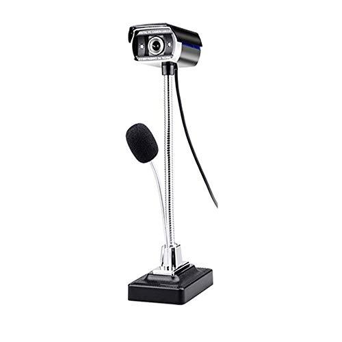 JZUKU Webcam USB USB HD 1080p Cámara Portátil Cámara De Visión Nocturna Ordenador con El Micrófono For Windows O Escritorio Webcam Sin Conductor Retrato De Captura