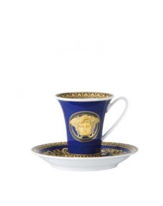 Rosenthal Versace Espressotasse Medusa Blue