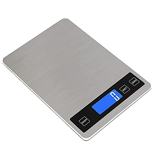 GDYJP Digital Kitchen Scales Digital Kitchen Scales Electronic Scales High Precision Food Scales Household Scales Stainless Steel Kitchen Scales with LCD Display