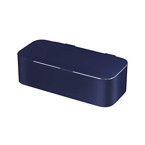 WYXR Ultraschall-Reiniger,Ultraschallreiniger Reinigungsgerät Digital Ultrasonic Cleaner Reiniger Edelstahl Ultraschallbad für Brillen Schmuck,Blau