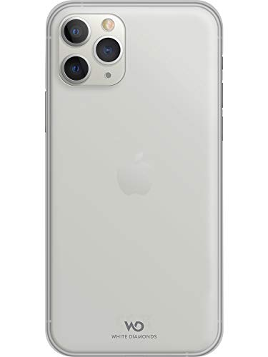 WHITE DIAMONDS Diamond - Cover Ultrasottile per Apple iPhone 11 PRO Max, Colore: Bianco
