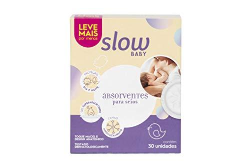 Absorvente para Seios Slow Baby, Slow, Absorvente para Seios Slow Baby. LS7012, Branca