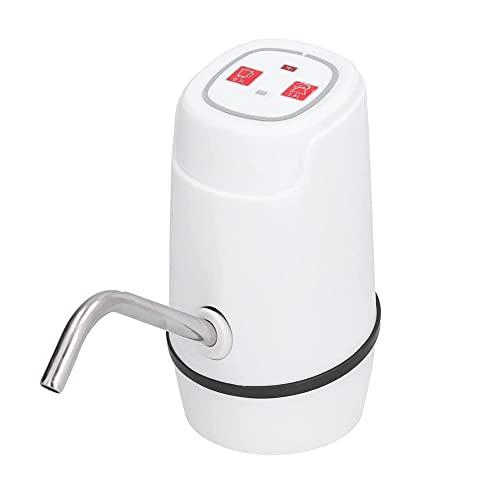 HAODGUO Dispensador de agua de botella, 5 galones. USB Carga de bomba de agua eléctrica, dispensador automático de jarras de agua para el hogar, recargable, para acampar y picnicing Alta compatibilida