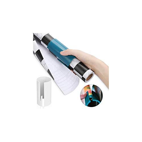 LATTCURE 2 Stück Geschenkpapier Cutter, Weihnacht Geschenkpapier Schneider Tragbare Papierschneider Roll Geschenkpapier Cutter Schiebe Packpapier Papiere Schneidwerkzeuge Geschenk papierschneider