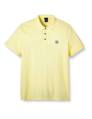 BOSS Prime Polo, Amarillo (Light/Pastel Yellow 744), XX-Large para Hombre