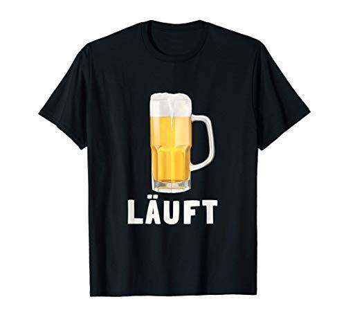Bier - Läuft (D010-0347A) T-Shirt