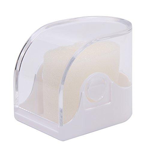 Shefii Aufbewahrungsbox für Armbanduhren, Schmuck, Armreif, Armband, aus Kunststoff, plastik, weiß, as shown
