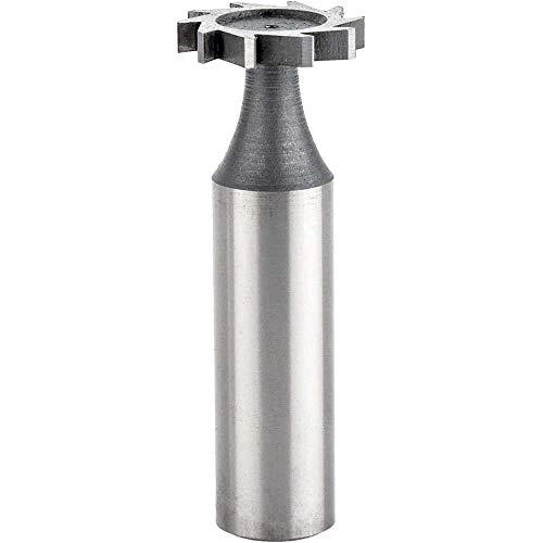 High Speed Steel 1//2 Diameter F/&D Tool Company 12308 Shank Type Woodruff Keyseat Cutter Straight Tooth 3//32 Width of Face