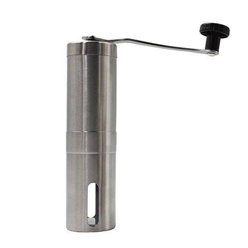 Coffeetree Hand Held 40g Bean Coffee Grinder Stainless Steel Cup for Espresso For Grinding Coffee Bean