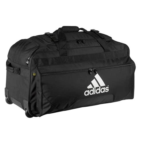 adidas unisex-adult Wheel Bag, Black, ONE SIZE
