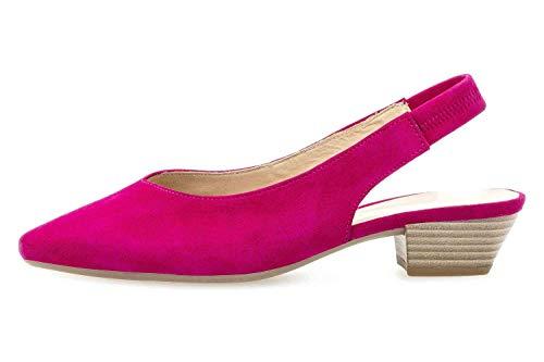 Gabor Fashion Pumps in Übergrößen Pink 41.530.14 große Damenschuhe, Größe:44