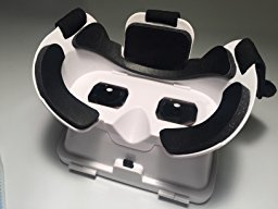 『KAWOE 3DVRゴーグル 3DVRメガネ 仮想現実体験 超3D映像効果 焦点/瞳孔距離調節可能 映画ゲーム用 ホワイト』の6枚目の画像
