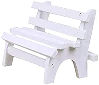 Mini Wooden Bench Ornament Chairs for Photo Booth Props Home Decoration