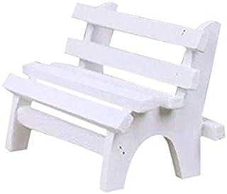 كرسي خشبي صغير مزخرف لتزيين المنزل