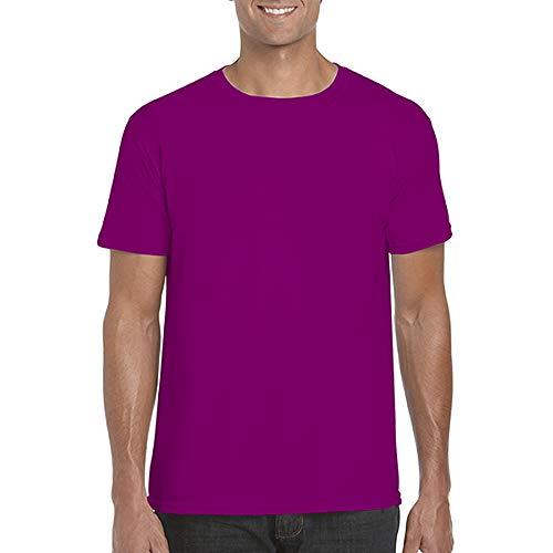 Gildan – weiches, Standard-T-Shirt, kurzärmelig, für Herren, 100 % Baumwolle, große Größe Gr....