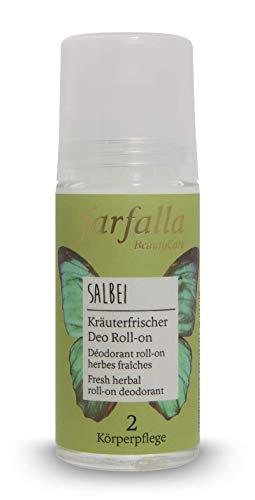 farfalla Salbei, Kräuterfrischer Deo Roll-on, 50 ml