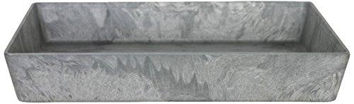 Artstone Untersetzer Ella, frostbeständig und leichtgewichtig, 29 x 5 cm, grau
