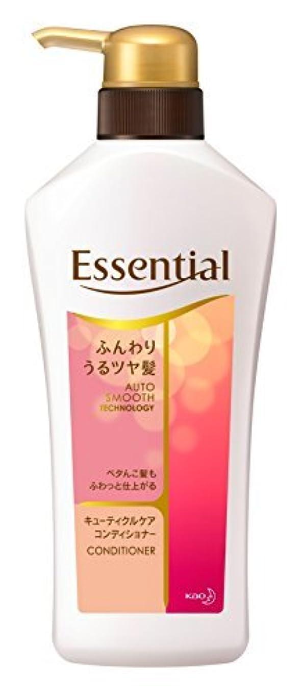日フライト地域のエッセンシャル コンディショナー ふんわりうるツヤ髪 ポンプ 480ml Japan