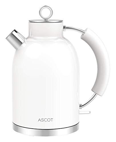 ASCOT Wasserkocher Edelstahl (White)