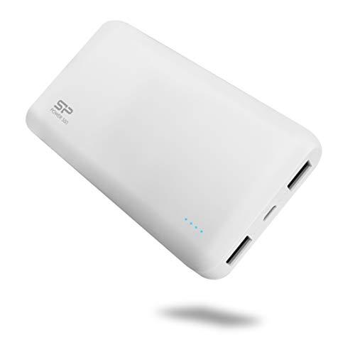Silicon Power モバイルバッテリー 5000mAh ホワイト SP5K0MAPBKS50…