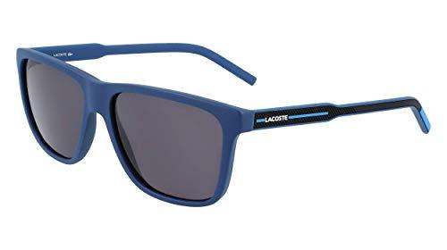LACOSTE EYEWEAR L932S-421 - Gafas de sol para hombre, acero azul mate, 57/15/145