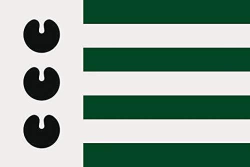 U24 Sticker Bloemendaal (Nederland) vlag vlag 8 x 5 cm autosticker sticker sticker