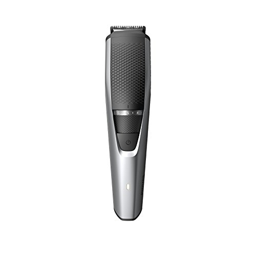 Philips Beardtrimmer Series 3000 Beard and Stubble Trimmer with Lift & Trim Comb, 60 min Cordless Use/1h Charge and Storage Pouch, Black, BT3216/14