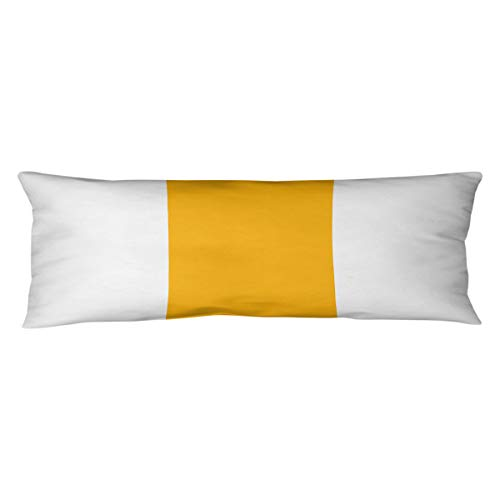 ArtVerse Katelyn Smith Washington Outline 14 x 14 Pillow-Spun Polyester Double Sided Print with Concealed Zipper /& Insert