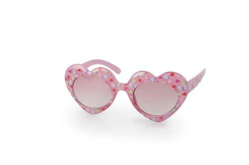 Egmont Toys zonnebril, hartvorm, roze