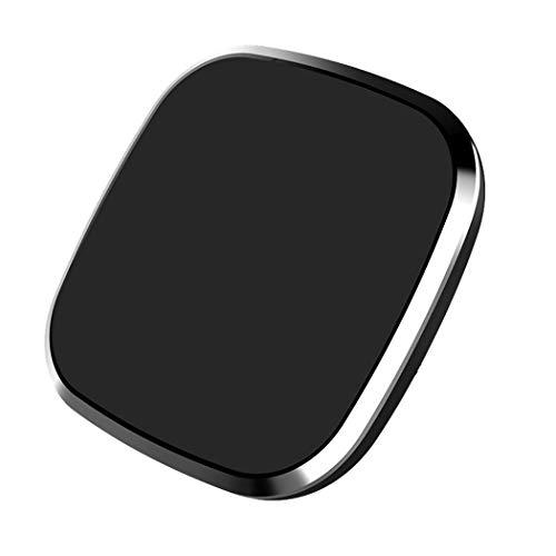Magnetische mobiele telefoon houder auto draadloze oplader voor iPhone Xr, Xs, X, Samsung Note 9, S9, Huawei, Sony, Htc Zwart