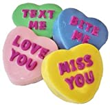 Valentine's Day Conversation Hearts Chocolate Covered Oreo Cookies 8 Count