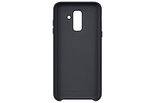 Samsung EF pa605 Dual Layer Cover per Galaxy A6 Plus Nero