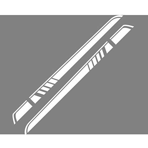 2PCS Autotür Seitenrock Streifenaufkleber, Für Mercedes Benz Vito Viano Valente Metris V Klasse W447 W639 V260