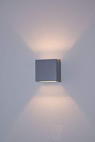 LED Up/Down Applique Applique Amon grande echelle lumière d'ambiance G9 d'argent 3W