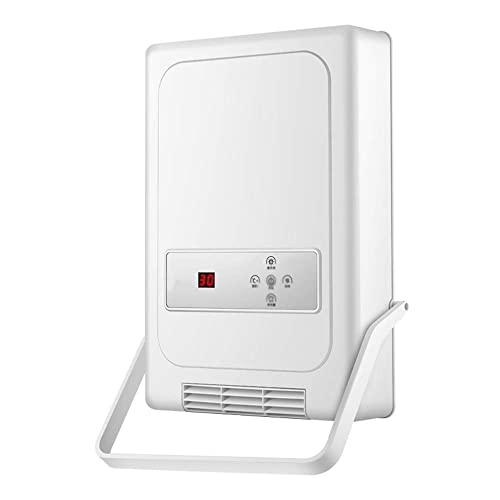 FWEOOFN Calentador de Sala de Estar para el hogar, Calentador, secador de baño, Control Remoto multifunción, Mini Inteligente, montado en la Pared, portátil, eléctrico, doméstico, (Color: Rosa)
