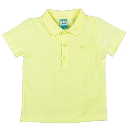 Top Top CURVATO Camisa de Polo, Lima, 9-12 Unisex bebé
