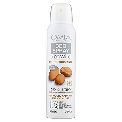 Omia Deo Spray Erboristico Olio di Argan - 150 ml