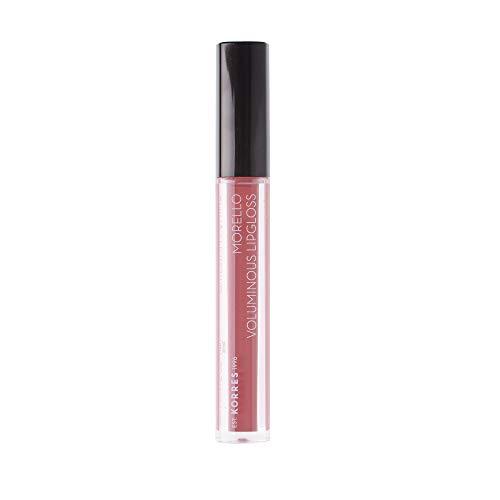 Korres Morello Voluminous Lipgloss 23, natural purple,1er Pack (1 x 4 ml)