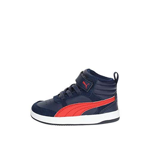 Puma 43-36391808 Scarpa Strappi + Elastico Bambino Blu 21