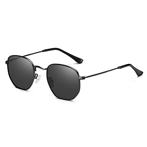 LUOXUEFEI Gafas De Sol Gafas De Sol Cuadradas Para Mujer Azul Rosa Gafas De Sol Para Hombre Conducción Negra
