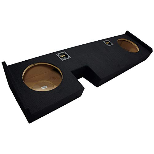 2009-2014 Ford F150 Extended Super Cab Truck Dual 10' Custom Fit Sub Subwoofer Box Enclosure