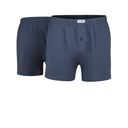 Ceceba Herren Boxershorts Shorts, 2er Pack, Blau (midnight blue 6979), Large (Herstellergröße: 6)