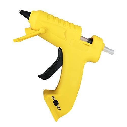 Komake Pistola de Silicona Inalámbrico, Pistola de Pegamento caliente electrica, 30 Barras de Pegamento de Alta Temperatura, Batería de Litio de 2000 mAh y Cable USB Recargable Para DIY Repara