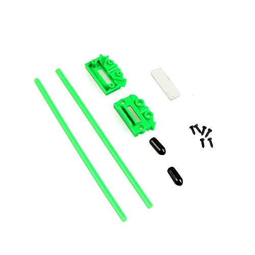 XUSUYUNCHUANG-HAT CC3D Atom V Typ Empfänger-Antenne Befestigung Sitzstativhalterung Halter Klemmadapter for DIY Racing Drone FPV Racers Quadcopter Drone Zubehör (Color : Green)