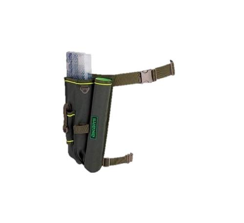 akami mg 10 bolsa cinturón riñonera porta artificiales y caña